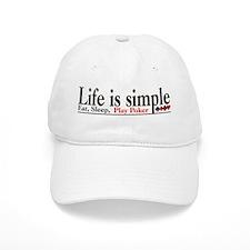 Life is Simple Baseball Cap