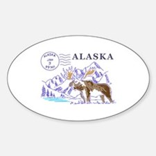 Travel Alaska Decal