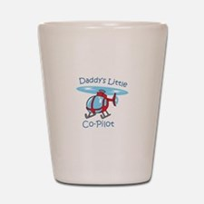 Daddys Co-Pilot Shot Glass