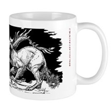 Saluki and Dragon<br> Mug