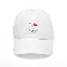 Pink Plastic Flamingo Baseball Cap