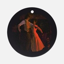 """Flamenco-1-"" Ornament (Round)"