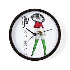 SEXY.CHICANA Wall Clock