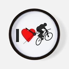 I love BMX Wall Clock