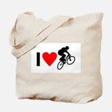 I love BMX Tote Bag
