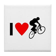 I love BMX Tile Coaster
