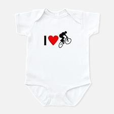 I love BMX Infant Bodysuit