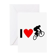 I love BMX Greeting Card