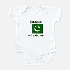 Cute Pakistani Infant Bodysuit