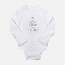 I Cant Keep Calm! Im Four Body Suit