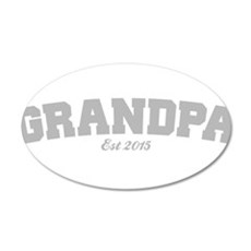 Grandpa Est 2015 Wall Sticker