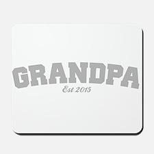 Grandpa Est 2015 Mousepad