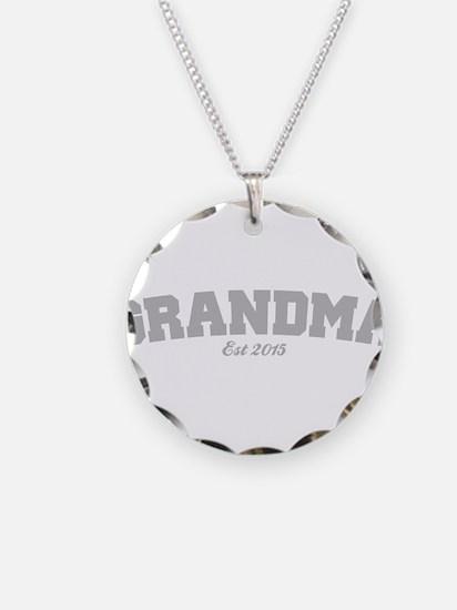 Grandma Est 2015 Necklace Circle Charm