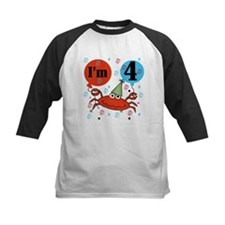 Crab 4th Birthday Tee