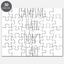 Camping Hair Dont Care Puzzle