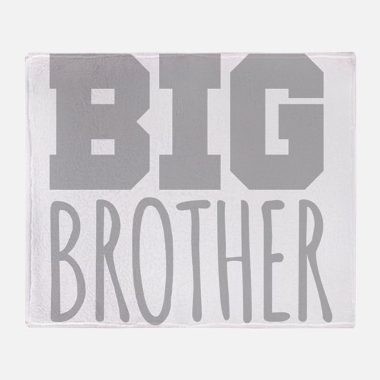 Big Brother Throw Blanket