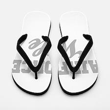 Airforce Wife Flip Flops