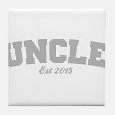 Uncle Est 2015 Tile Coaster