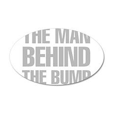 The Man Behind The Bump Wall Sticker