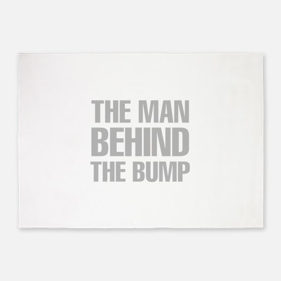 The Man Behind The Bump 5'x7'Area Rug