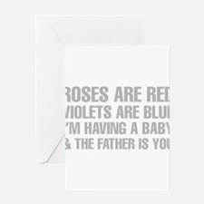 Roses Are Red And The Father Is You Poem Greeting