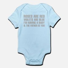 Roses Are Red And The Father Is You Poem Body Suit