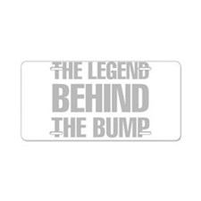 The Legend Behind The Bump Aluminum License Plate