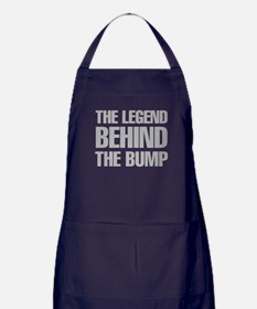 The Legend Behind The Bump Apron (dark)