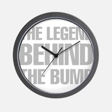 The Legend Behind The Bump Wall Clock