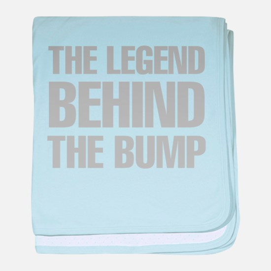 The Legend Behind The Bump baby blanket