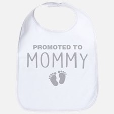 Promoted To Mommy Bib