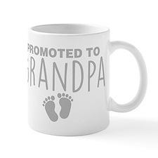 Promoted To Grandpa Mugs