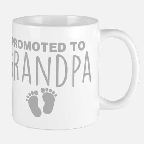 Promoted To Grandpa Mugs