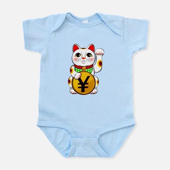 Yen Yuan Lucky Cat Maneki Neko Body Suit