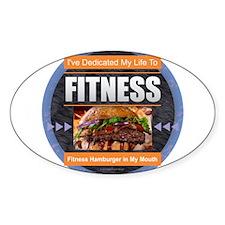 Fitness - Hamburger Decal