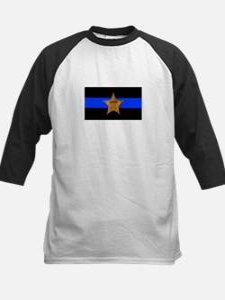Sheriff Thin Blue Line Baseball Jersey