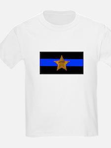 Sheriff Thin Blue Line T-Shirt