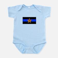 Sheriff Thin Blue Line Body Suit