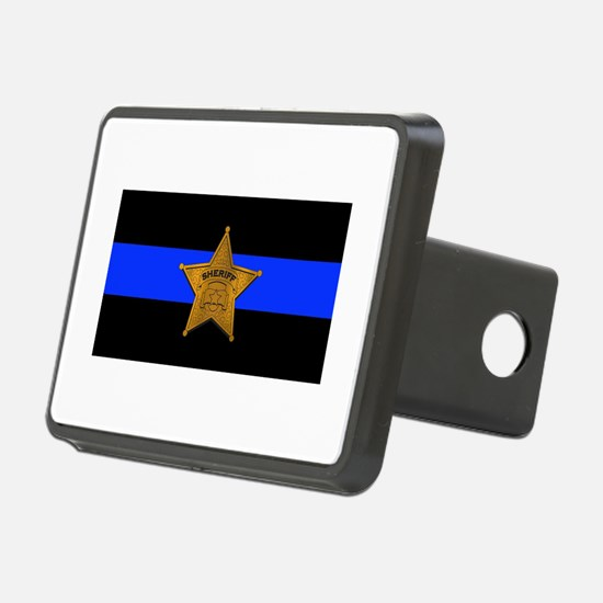 Sheriff Thin Blue Line Hitch Cover