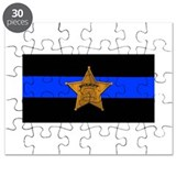 Thin blue line Puzzles