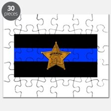 Sheriff Thin Blue Line Puzzle