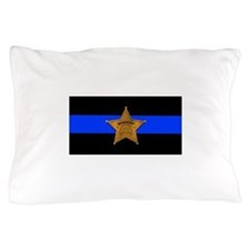 Sheriff Thin Blue Line Pillow Case