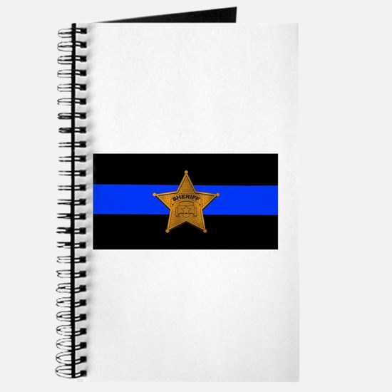 Sheriff Thin Blue Line Journal