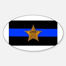 Sheriff Thin Blue Line Decal