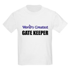 Worlds Greatest GATE KEEPER T-Shirt