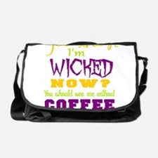 wicked coffee Messenger Bag