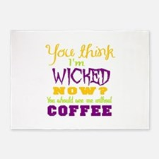 wicked coffee 5'x7'Area Rug