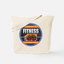 Fitness - Hamburger Tote Bag