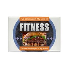 Fitness - Hamburger Magnets