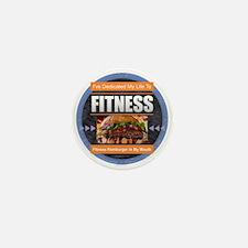 Fitness - Hamburger Mini Button